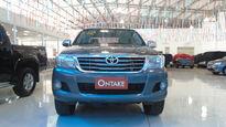 Toyota Hilux 2.7 SRV 4X4 CD 16V FLEX 4P AUTOMÁTICO 2012}