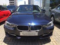 BMW 320i  2.0 SPORT 16V TURBO GASOLINA 4P AUTOMÁTICO 2015}