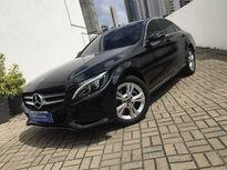 Mercedes-Benz C 180 1.6 CGI AVANTGARDE 16V TURBO GASOLINA 4P  2017}
