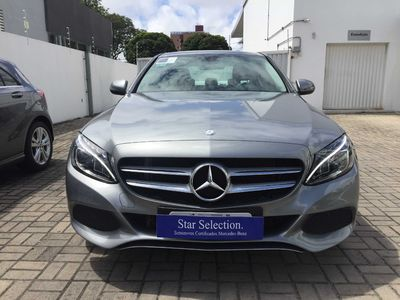 Mercedes-Benz C 180 1.6 CGI Avantgarde Turbo (Aut) 2016}